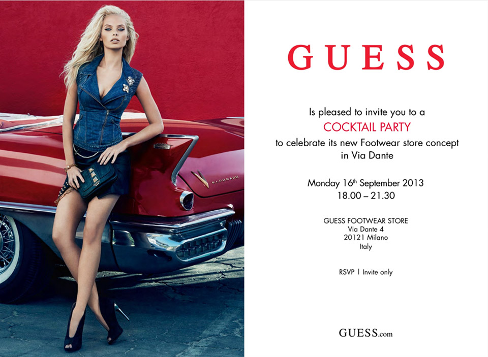 GUESS Cocktail Party